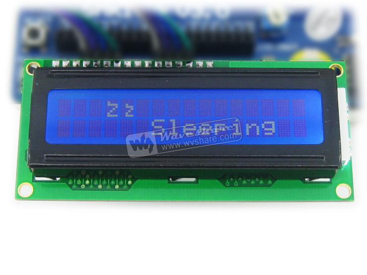 1602 16x2 Character LCD Display TN/STN Module 3.3 V Blue Backlight with KS0066 /HD44780 Driver IC IN STOCK(China (Mainland))
