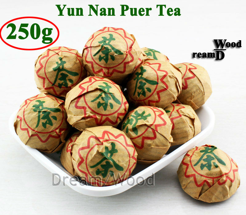 250g China ripe premium puer tea puerh the Chinese tea yunnan puerh tea pu er shu