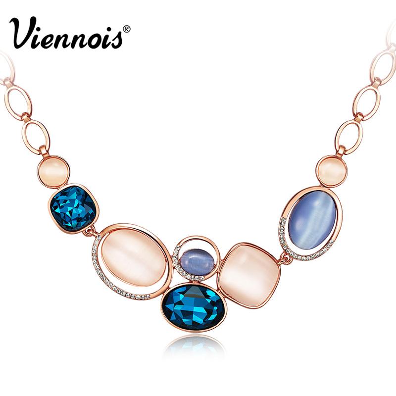 Колье-цепь Viennois Fashion Jewelry