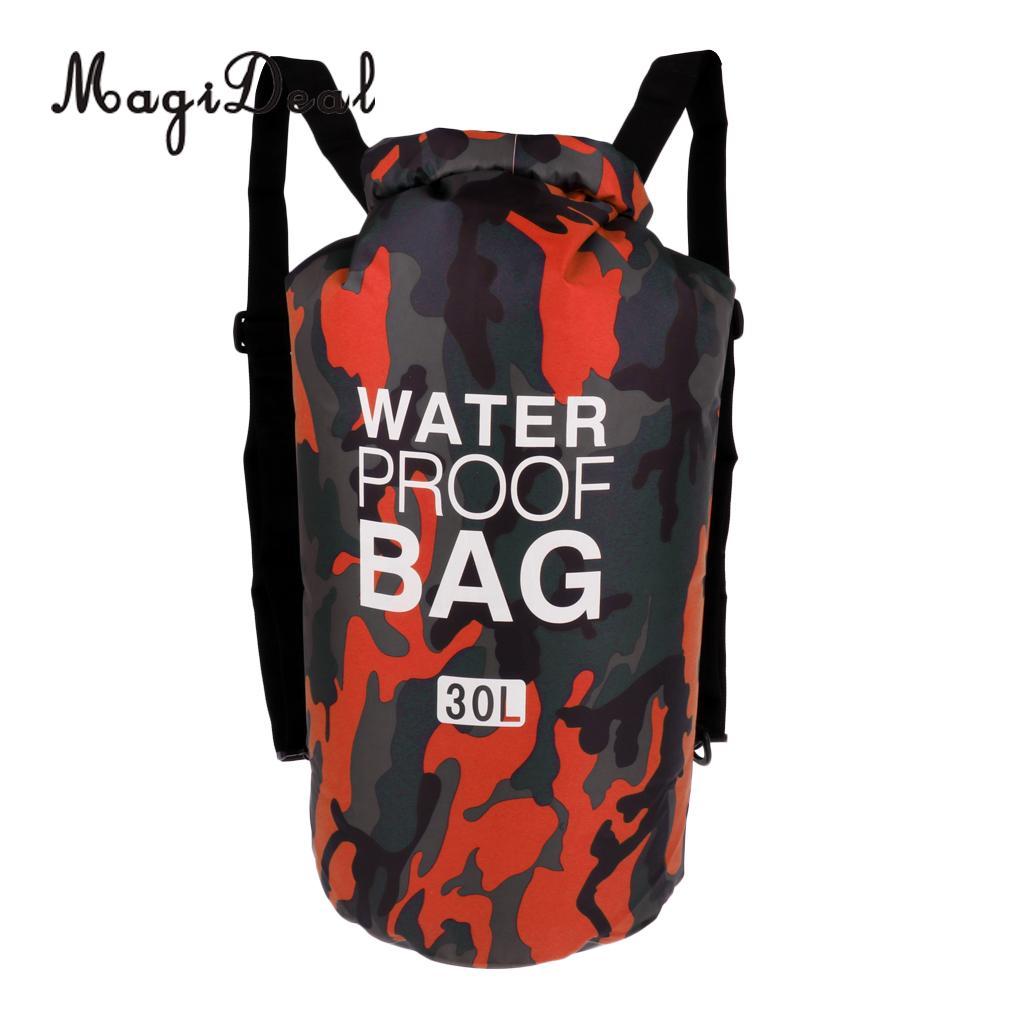 30L Waterproof Dry Bag Backpack Rucksack Kayak Boat Floating for Surf Fishing Camping Hiking Climbing Cycling Snorkeling Diving