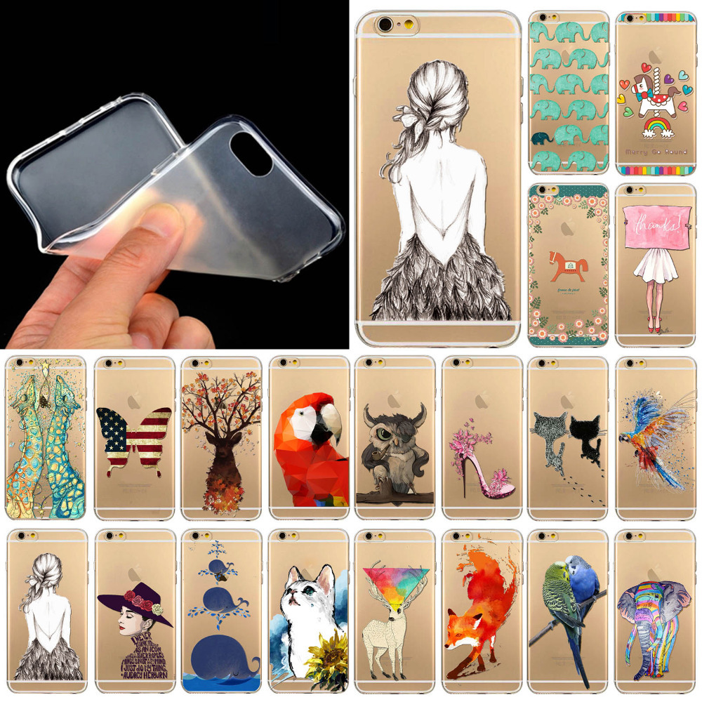 4 4S Lovely animal cartoons TPU case cover for Apple iPhone 4 4S Soft Rubber Silicone cell phone case WHD1289 1-20 Free shipping(China (Mainland))