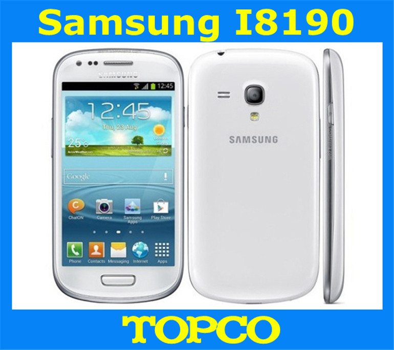 Samsung Galaxy S3 mini i8190 Original Unloced GSM 3G Dual-core mobile phone 4.0'' WIFI GPS 5MP 8GB Smartphone Free shipping(China (Mainland))
