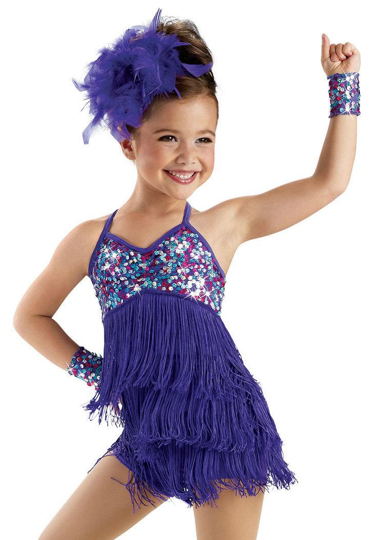 2015 Fringe dance Girl Latin Dance Dress Stage Performance ...