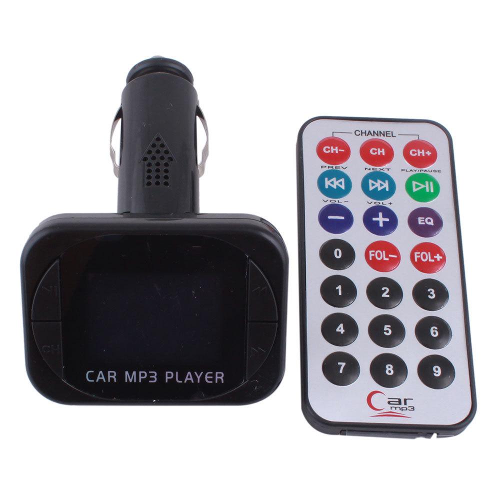 Гаджет  2013 New Car Music MP3 Player FM Transmitter Modulator LCD USB SD MMC Remote #42#31884 None Бытовая электроника