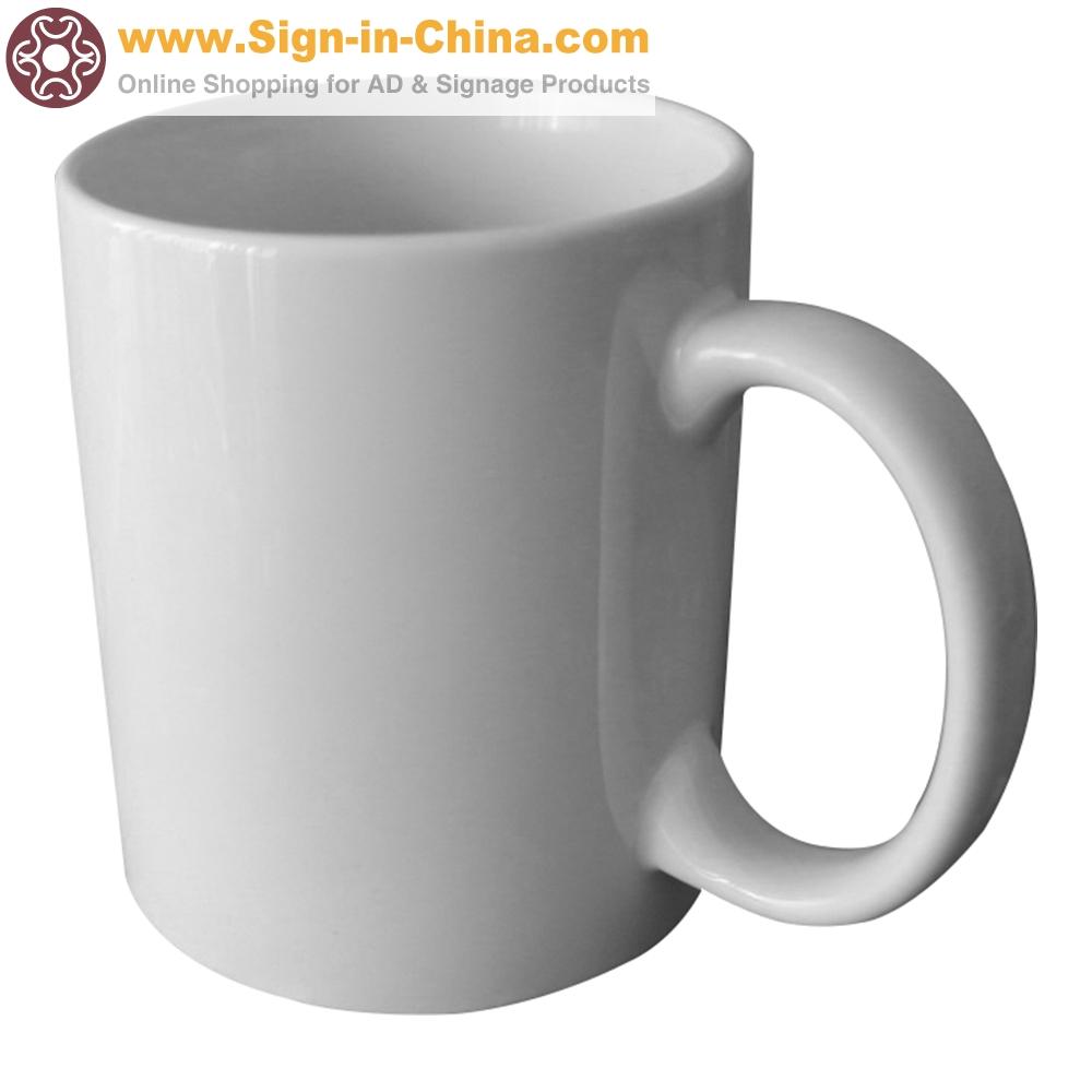 36pcs/lot B Sublimation Mugs Blank White Coated Mugs B Grade 11OZ For Heat Press Printing With Box(China (Mainland))