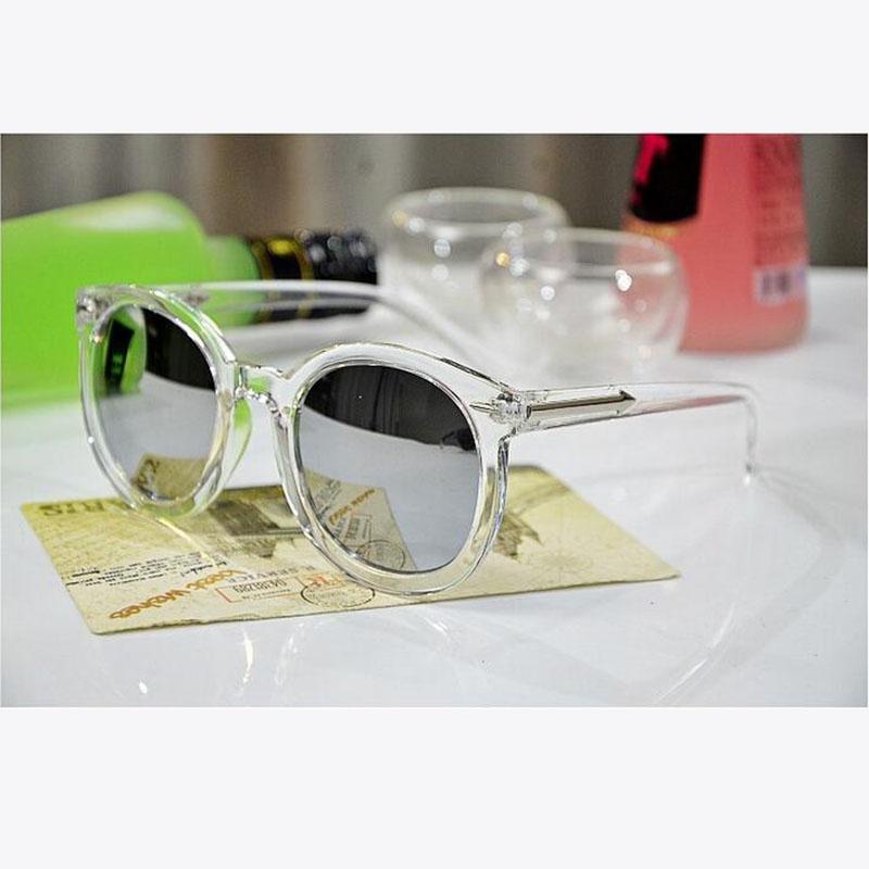 Fashion Multicolour Mercury Mirror Glasses Men Sunglasses Women Male Female Coating Sunglass Gold Round Oculos De Sol Feminino