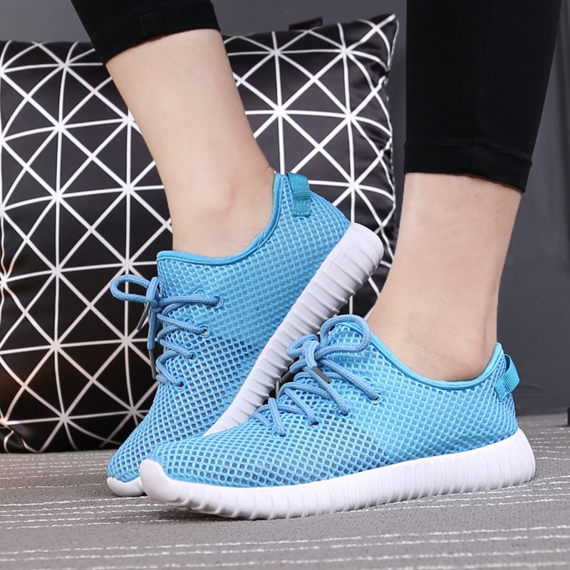 Hot Sale Fashion Summer Women Walking Shoes Lightweight Casual shoes Breathable Flats Zapatos Mujer Trainers(China (Mainland))