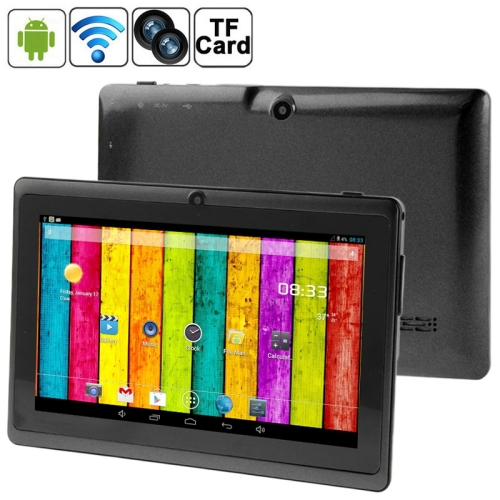 708 Allwinner A23 1.2GHz Dual Core 7.0 Capacitive Screen 512MB+ 4GB NAND Flash Android 4.2.2 Tablet PC with WIFI/ Bluetooth<br><br>Aliexpress