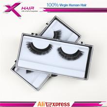 Heißer Verkauf Charming Schwarz falsche Wimpern Neue Designer 1 para Make-up menschliches Haar Wimpernverlängerung Schönheit Wimpern(China (Mainland))