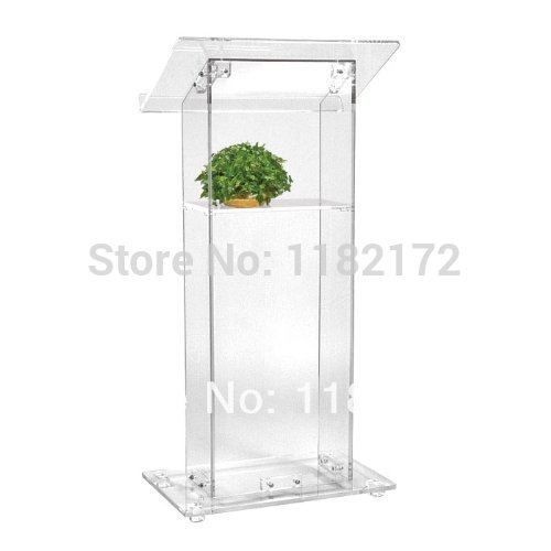 Cheap Manufacturing customized acrylic lectern acrylic podium pulpit lectern<br><br>Aliexpress