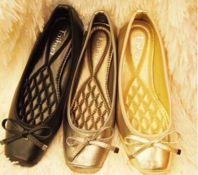 2015 New Arrival Spring Summer Shoes Cow Muscle Women Flats 3 Colors Euro Size 35-42 Free Shipping(China (Mainland))