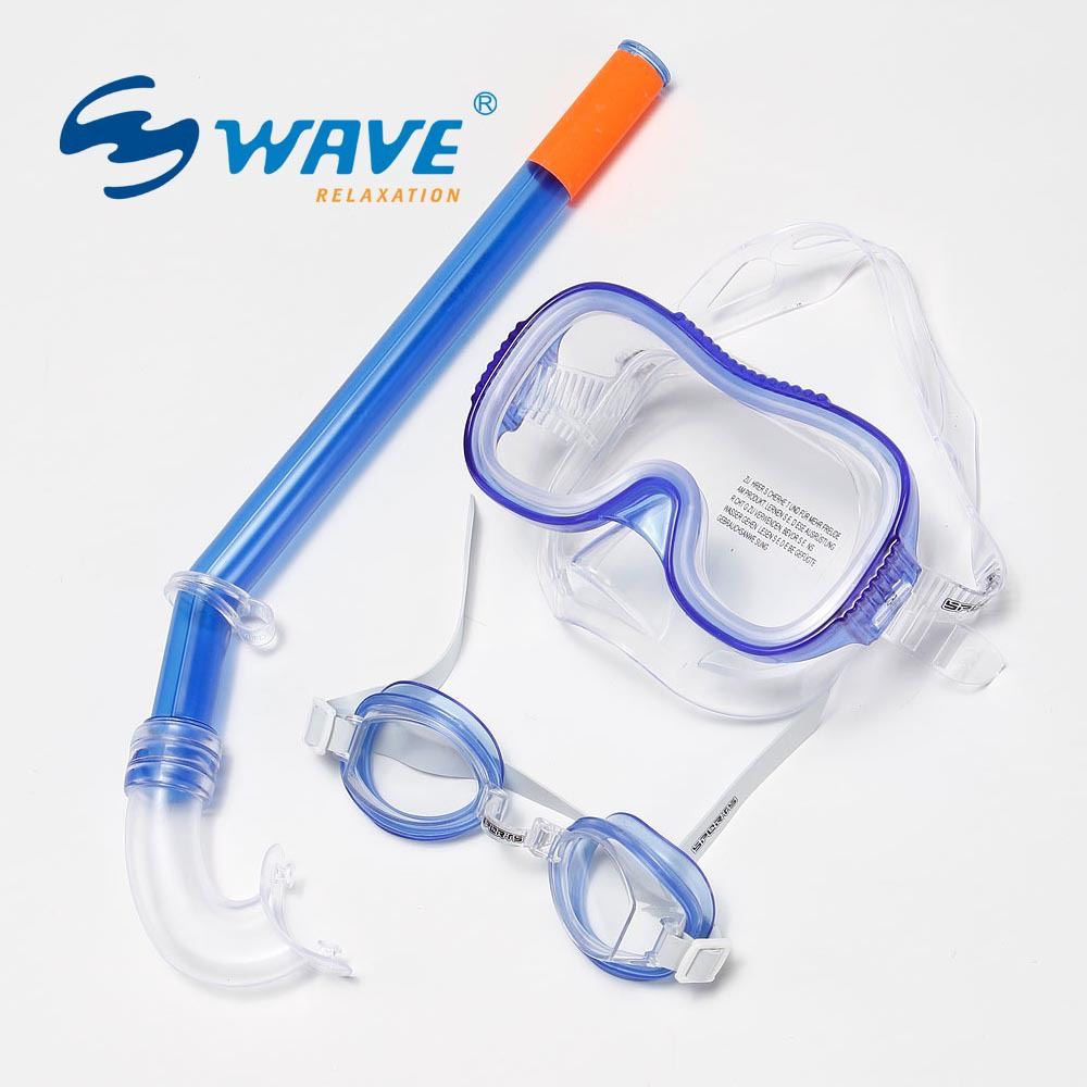 free shipping children swimming and diving supplies set goggles and snorkel diving masks(China (Mainland))