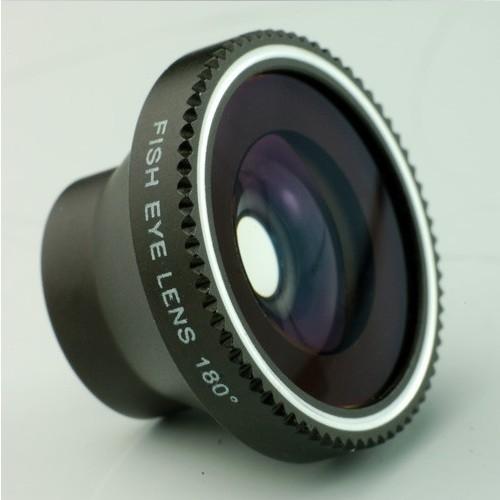 30pcs/lot 180 Fisheye Camera digital Detachable Lens kit For iPhone 4 5 Samsung S3 S4 LUMIA 920 Free Shipping CL-2(China (Mainland))