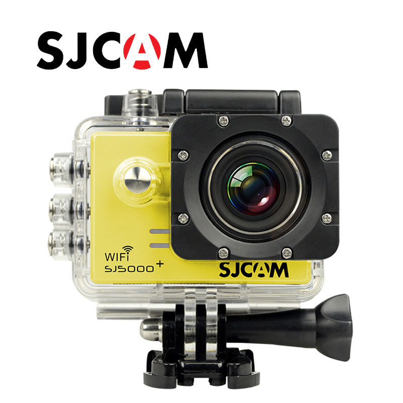 Free Shipping!!Original SJCAM SJ5000+ WiFi Ambarella A7 Waterproof Camera 1080P HD 60FPS GoPro Sport Action Camera Style