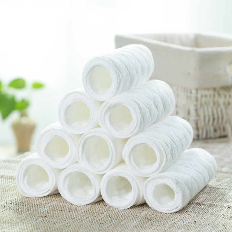 Newborn Washable Baby Care Products Reusable Baby Diapers Cloth Cotton Diapers Insert 1 Piece 3 Layers Good Qualitity G008(China (Mainland))