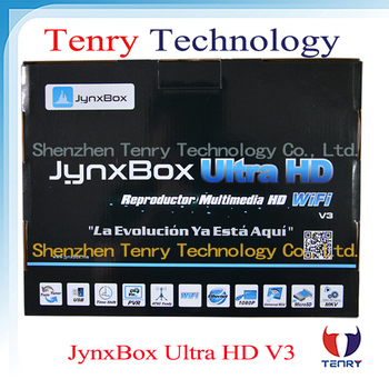 Free shipping Jynxbox Ultra HD V3 TV Receiver FREE JB200 8PSK Module + support JA-ATSC Tuner + wifi+dongle for north america