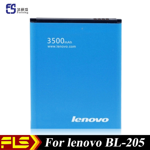 Free SG post + 3500mAh 3.7V Li-ion battery For Lenovo P770 P770i BL205 mobile phone batteries(China (Mainland))