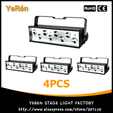 Buy , 4PCS 200W Stage DMX Strobe Lights High MCD 8Pcsx27W LEDs Effect DJ Light for $711.40 in AliExpress store