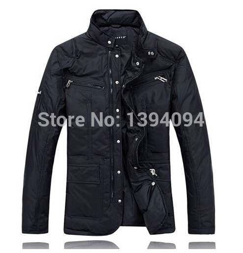 Winter men s clothes thick warm 90 white duck down jackets coats mens outdoor jacket POLO