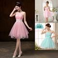 Bridesmaid Dresses drnwof 2017 New Short A Line Strapless Women Cheap Bridesmaid Dress Fast Shipping Wedding