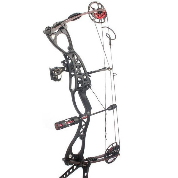 newly upgrade hunter hunting arrow bow stabilizer aluminum Vibration dampening Red and black