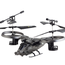 Apache Original 3.5CH with Gyro Radio Mini Drones Indoor Co-Axial Plastic RC Helicopter Built in Gyroscope Remote Control Toys(China (Mainland))
