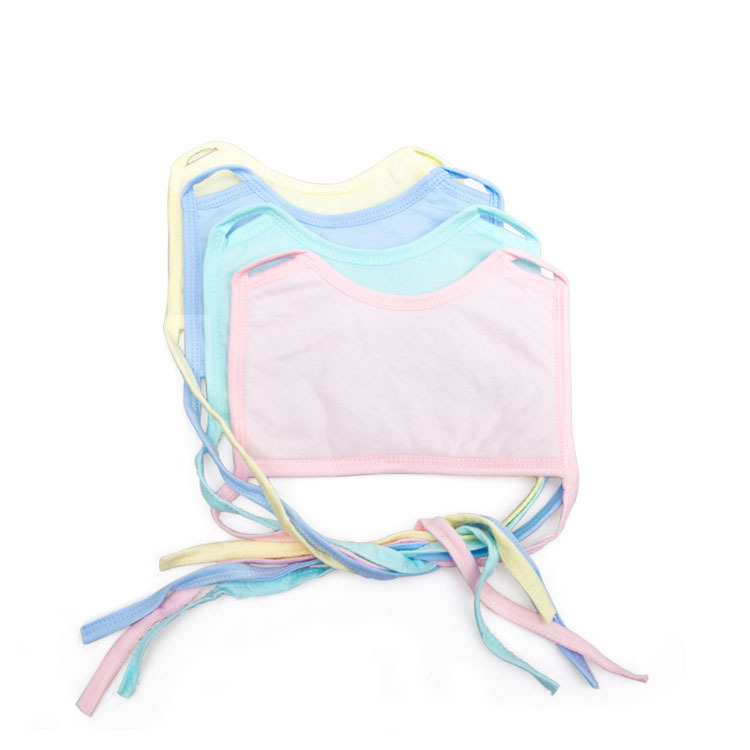 Factory direct batch of candy colored cotton lace Bib Bib Antarctic soft towel comfortable smell slobber