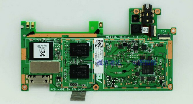 FOR Asus Google NEXUS 7 2nd motherboard 3G version 16G motherboard 100% test work good free shipping(China (Mainland))