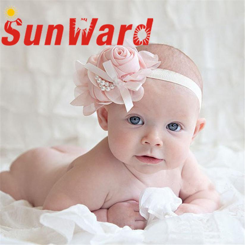 2016 Multicolor Flower Rhinestone Headbands girl hair accessories Girl headband cute hair band newborn floral headband WJul26