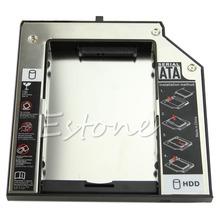 For IBM Lenovo Thinkpad T430 W530 T530 2nd SATA HDD SSD Hard Drive Caddy Adapter(China (Mainland))