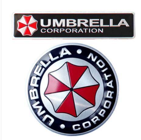 Гаджет  3D Aluminum Umbrella corporation car sticker for hyundai Tucson IX35 I30 Elantra Sonata Azera kia rio Sportage None Автомобили и Мотоциклы