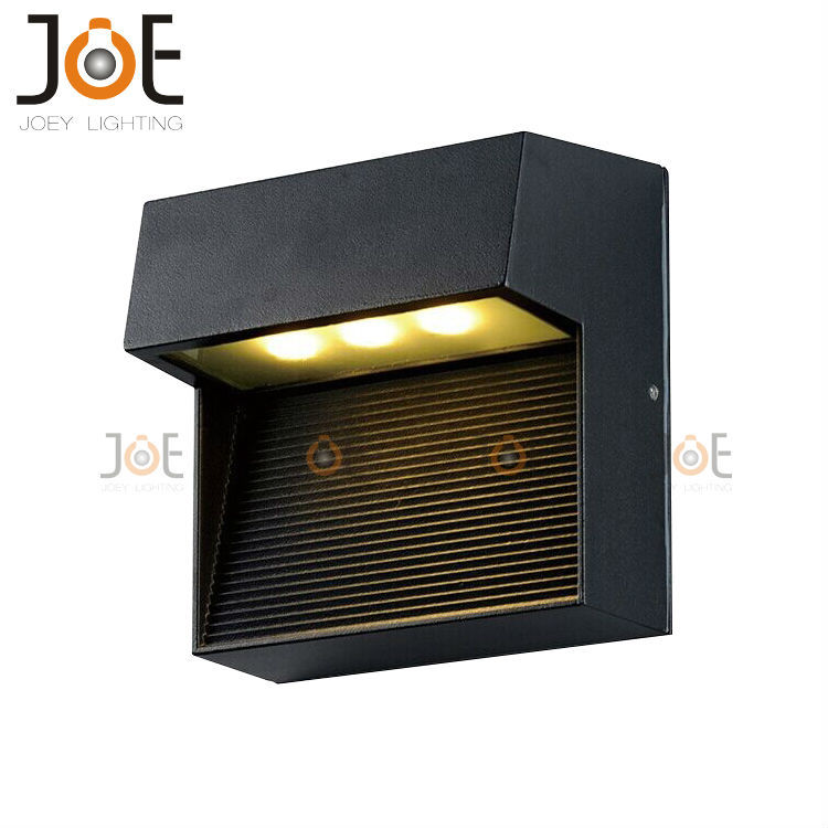 modern led 3w outdoor wall lamp porch light waterproof. Black Bedroom Furniture Sets. Home Design Ideas