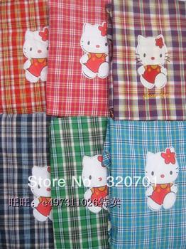 Free shipping! long sleeve Classical check printing 100% cotton Kitchen /Cooking/Baking Apron