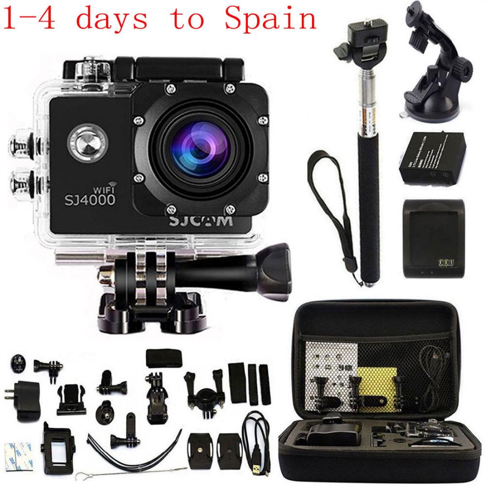 Original SJCAM SJ4000 WIFI 1080P Action Camera Diving 30M Waterproof Camera Full HD Sport Camera 1.5 inch Car DVR Video Black<br><br>Aliexpress