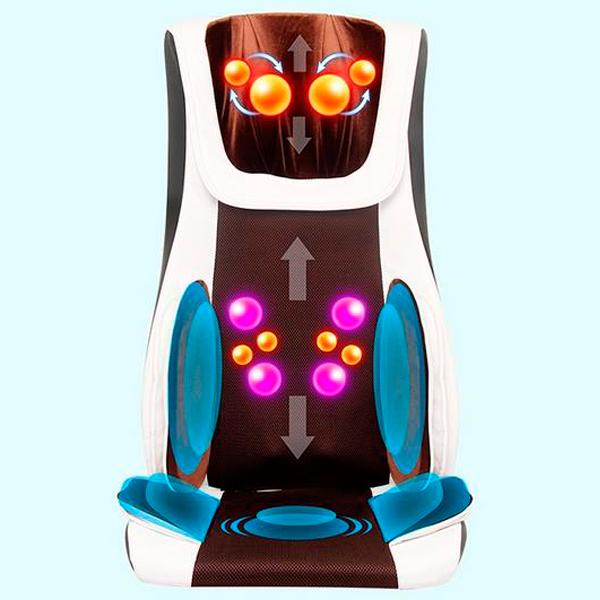2015 Hot Sale Full Body Thai 4D Back Kneading Massage Chair Neck Shiatsu Massager Cushion Air Compression Massage Chair For Sale(China (Mainland))