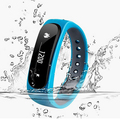 E02 Smart Bracelet Fitness Tracker Sports Waterproof Smart Wristband fit bit mi band for IOS Samsung