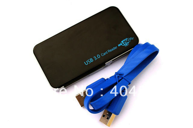 USB 3.0 All In One Card Reader Writer CF SD TF MC MS M2 w/Cable Universal 5Gbps +Freeshipping