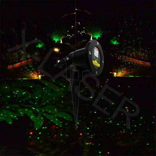 Outdoor Red&green laser light for garden design/mini laser moving star /x-laser/landscape lighting(China (Mainland))