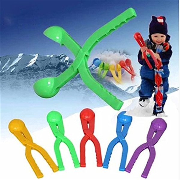 1pc/lot Winter Snow Ball Maker Sand Mold Tool Kids Toy Lightweight Compact Snowball Fight outdoor sport tool Toy Sports nq673720(China (Mainland))