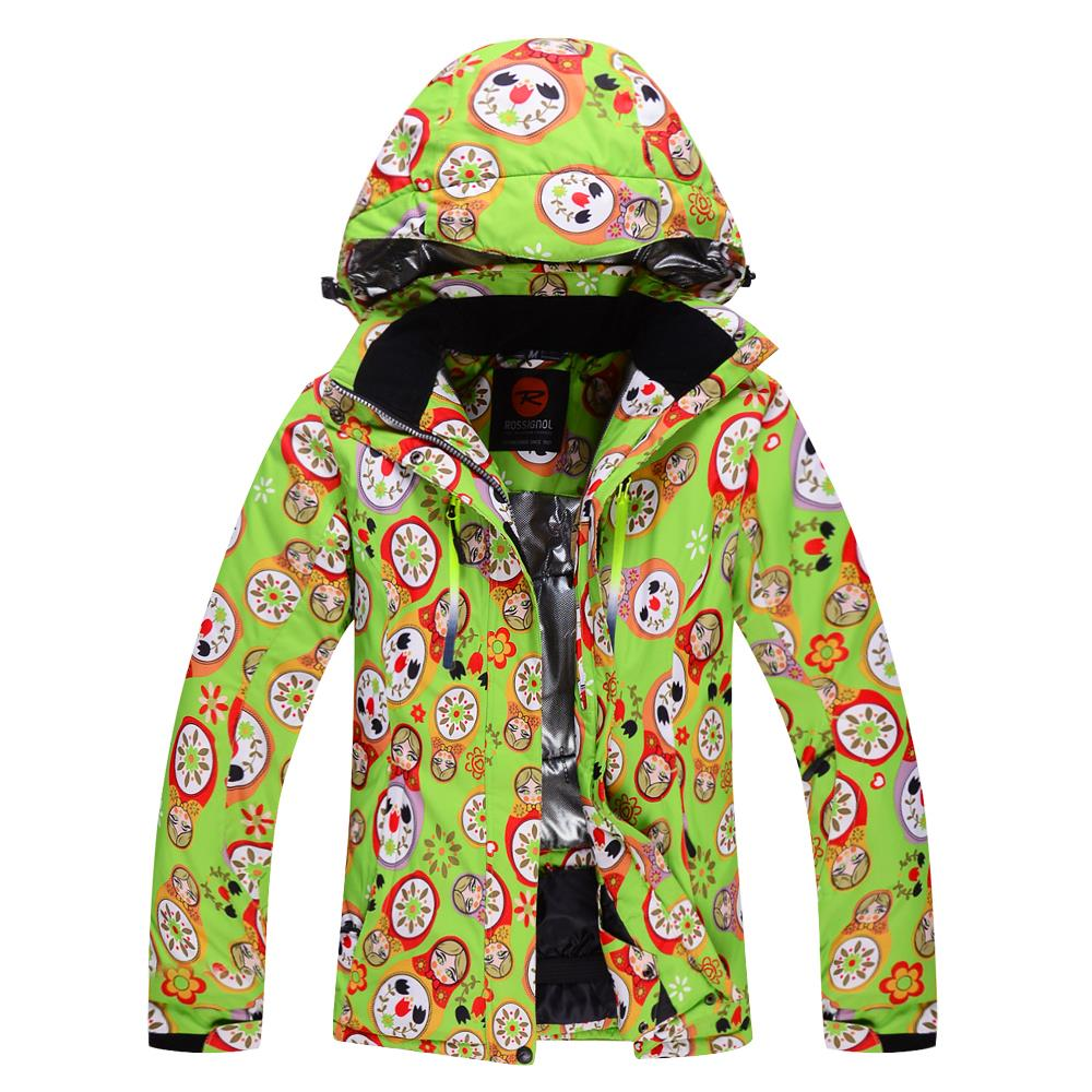 2015  Female Snowboard Jacket Outdoor Hiking Suits Fashion Ski Clothing Women Snowboard Monoboard Clothes Women Skiing Jacket <br><br>Aliexpress