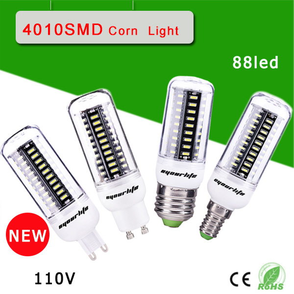 1Pcs Ultra High luminous flux 4014 SMD E27 e14 gu10 g9 30W LED Corn lamp Chandelier AC110V High Quality LED bulbs light(China (Mainland))