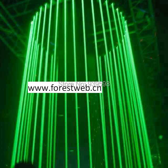 free shipping FOREST stage lazer curtain DMX512 1000mW green laser curtain=1controler+20pcs laser power + 20cable<br><br>Aliexpress