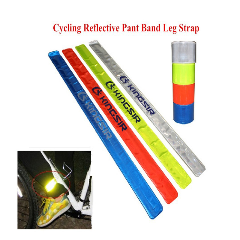 1x Four Colors Pratical MTB Road Bike Bicycle Cycling Ref;ective Safety Pant Band Leg Strap Belt Cycling Accessories Hotsale<br><br>Aliexpress