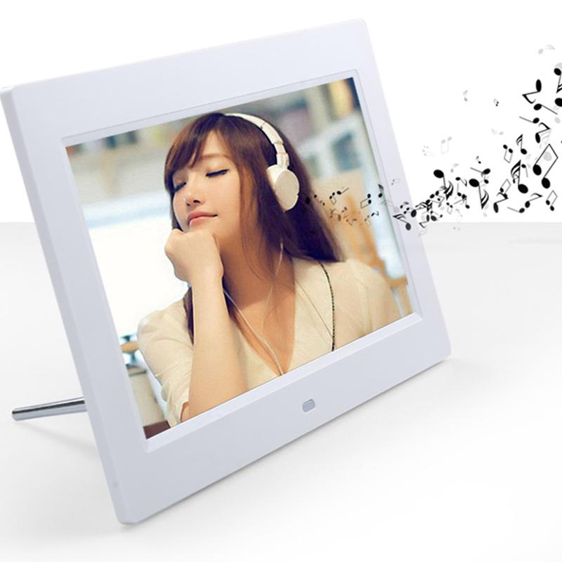 Digital Photo Frame 7 inch 800*480 Digital Picture Album Alarm Clock Calendar MP3 WMA Movie Player Digital Frame