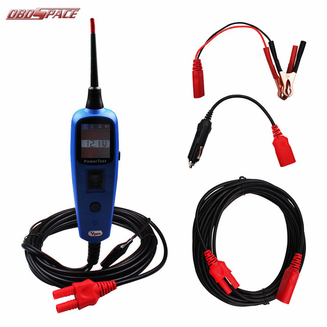 Professional Car Electric Tester Auto Circuit Test Vgate PT150 with Digital Circuit Tester Fit for all cars DHL Free Shipping
