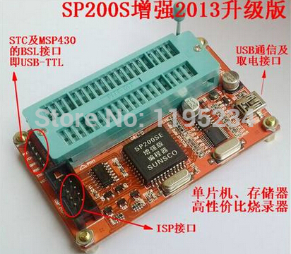 Free shipping Free shipping Mcu series eeprom memory chip burner sp200se sp200s enhanced version Best quality(China (Mainland))