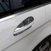 Chrome Car Door Handle Trim Bowl Decoration Mercedes Benz GLK/GL/ML/C Class W204 X204 Styling Accessories - World store