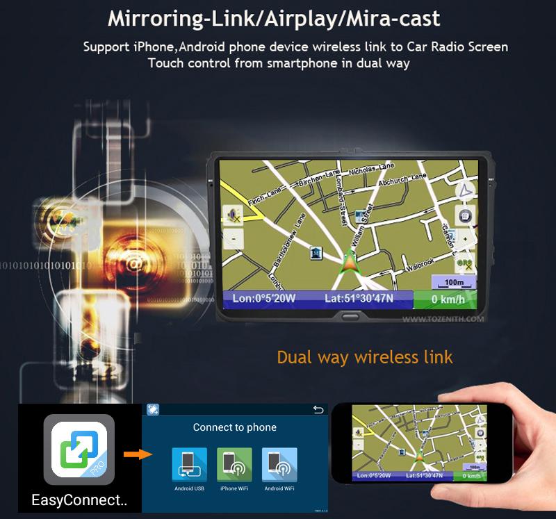 ANDROID 6.0 CAR DVD 2DIN CAR RADIO GPS toyota prado 120 (6)