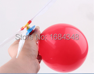 The balloon aircraft manufacturers selling children's educational toys DIY balloons(China (Mainland))