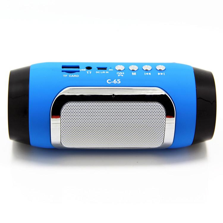 Stylish TF USB FM Wireless Portable HandsFree Music Sound Box Subwoofer Loudspeakers with Mic mini PC Computer laptop speaker(China (Mainland))